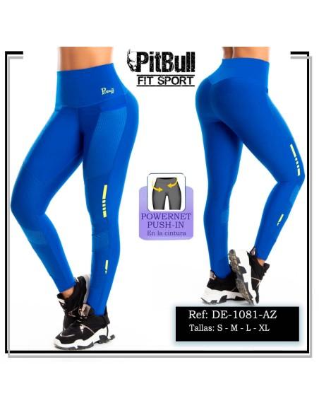 malla deportiva pitbull azul de1081