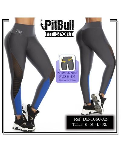 pantalon deportivo pitbull azul de1060