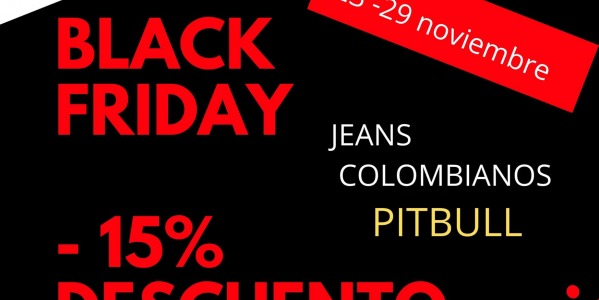 BLACK FRIDAY ........EN MODA DE COLOMBIA.